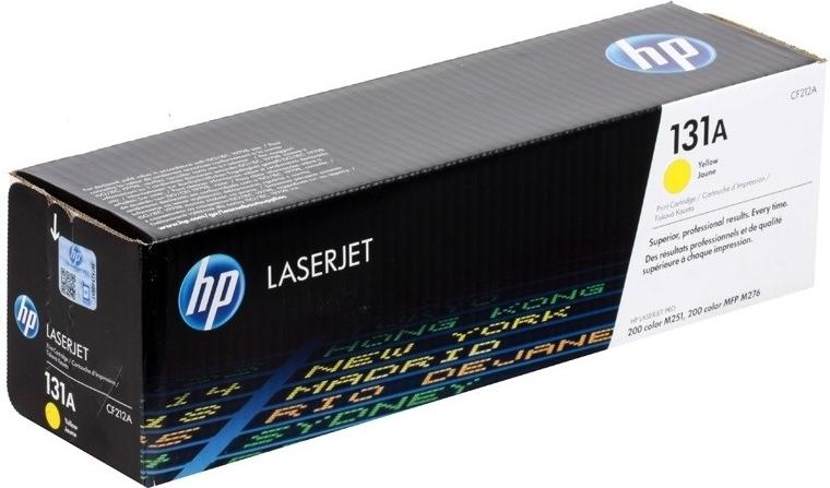 Náplně do tiskárny HP LaserJet Pro 200 M251n žlutá 1800 stran