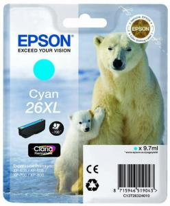 Epson 26XL, (T2632) modrá 9,7ml