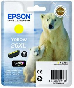 Epson 26XL, (T2634) žlutá 9,7ml